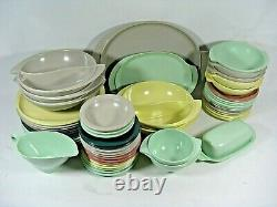 Melmac Boonton Boontonware Dinner Set Plates Cups Serving Trays Mid-Century