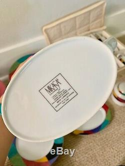Mikasa California CURRENTS M5101 SET Dinner Plates, Salad Bowls, Gravy Boat ++