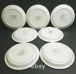 Mikasa Light N Lively Sparkle Set Vintage Happy Flower Dinner Salad Plate Bowl