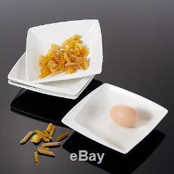 Modern Dining Sets 40PC Ceramic Crockery Dinner Set Service for 6 Plates Bowls