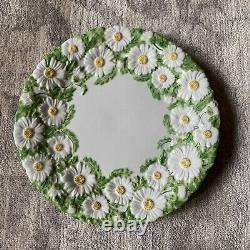 Mottahedeh Italy Magolica Style Daisy set of 4 dinner 10 plates dishes vintage
