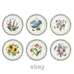 NEW Portmeirion Botanic Garden Dinner Plate Set 6pce