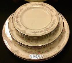 NORITAKE SHENANDOAH SET OF 20 SERVICE FOR 4 Dinner Plates Salad Bread Cups MINT