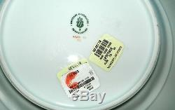 NYMPHENBURG China GINKGO Pattern 5/Pc PLACE SETTING CUP SAUCER (DEMI) PLATE DISH