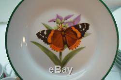 National Wildlife Federation China Set Birds Butterflies Dinner Plates Soup 39pc