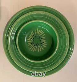 New FIESTA WARE Kiwi 3 PC PLACE-SETTING, Bowl, Lunch Plate & Dinner Plate