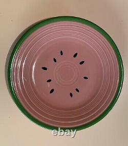 New FIESTA WARE Watermelon 3 PC PLACE-SETTING, Bowl, Lunch Plate & Dinner Plate