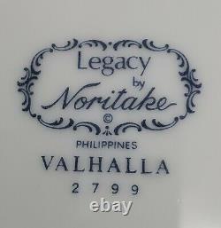 Noritake Valhalla Dinner Plates Set of 8