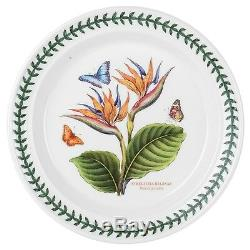 Portmeirion Exotic Botanic Garden Dinner Plate Set with 6 Assorted Motifs