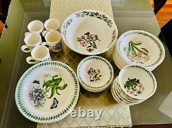 Portmeirion botanic garden dinner plate set