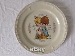 Precious Moments Dinner Plates The Enesco Collection Set Of 7 Vintage