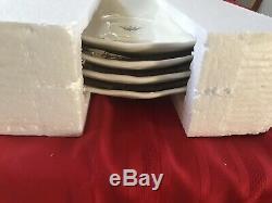 Rae Dunn Retired Crown Dinner Plates Set Of 4 New In Original Packaging Botiq