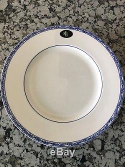 Ralph Lauren Mandarin Blue Dinner Plates Set 10 Ten NEW 10 3/4