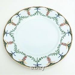 Raynaud Limoges Porcelain'Festivites' Set of 4 Dinner Plates