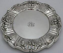 Reed & Barton Francis 1 Sterling Silver Dinner Plates 10 3/4w Set of 6