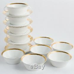 Rosenthal Ascot 42 Piece Dinner Set Plates Bowls Cups Kurfurstendamm 4001