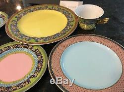Rosenthal VERSACE RUSSIAN DREAM Place Setting 5 piece Setting