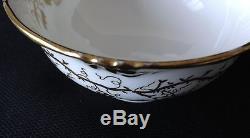 Royal Cauldon King's Plate 59-piece set dinner, salad, luncheon, cups, saucers