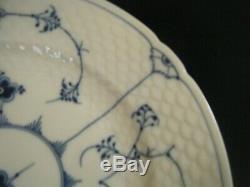 Royal Copenhagen BLUE FLUTED PLAIN #624 Dinner Plates (Set of 4)