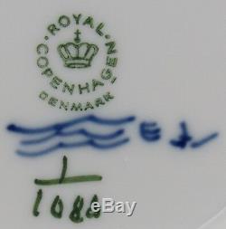 Royal Copenhagen Blue Fluted Full Lace Porcelain Dinner Plate Place Setting 1st