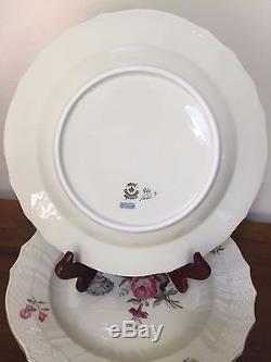 Royal Copenhagen FRIJSENBORG Dinner Plates #1621 Set of 4