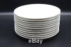 Royal Copenhagen WHEAT 10 White Dinner Plates 14219 Set of 11