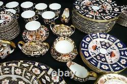 Royal Crown Derby Imari 2451 China Set Amazing