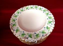 Royal Crown Derby MEDWAY (BURFORD) Dinner Plates Set of 12 MINT