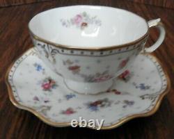 Royal Crown Derby (Royal Antoinett Pattern) 11 Piece Tea Set
