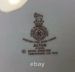 Royal Doulton China ALTON 68 Pieces Complete 12 Place Settings Plus Serving Exc