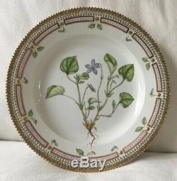 SET (8) Flora Danica Plates 10 Royal Copenhagen MINT Numbered Denmark CHASE