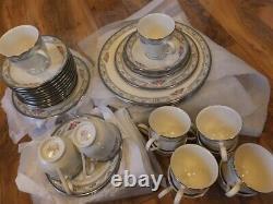 Serving for 12, Lenox Country Romance dinner dinnerware porcelain china set