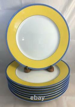 Set 4 Charles Field Haviland MONET Limoges Giverny Large Dinner Plates Free Ship