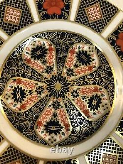 Set Of 12 Royal Crown Derby Old Imari 6.25 Bread Plates 1st Quality MINT