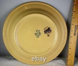 Set Of 4 Wallace Rodeo Restaurant Ware Dinner Plates Cowboy Horse Till Goodan