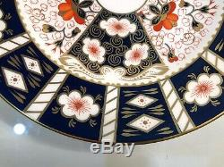 Set Of 6 Royal Crown Derby Traditional Imari 10.5 Dinner Plates ALL 1ST QUALITY