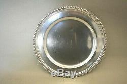 Set Of Seven Sterling Silver 833 Portugal Dinner Plates 10 1/2 Chargers 145oz
