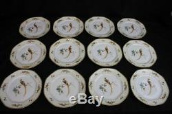 Set of 12 Golden Pheasant (Octagonal) by ALTROHLAU 9 1/2 Dinner Plates MINT