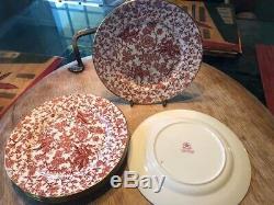 Set of 12 Tiffany & Co. Bone China Hammersley Discontinued Dragon Design