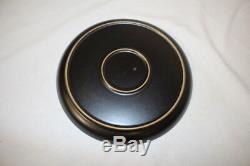 Set of 6 Vintage Denby Langley SAMARKAND BROWN Circles 10 Dinner Plates England