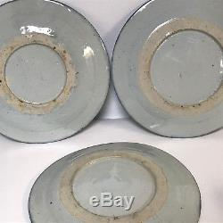 Set of 8 19th Century Chinese Canton Porcelain 10 Dinner Plate