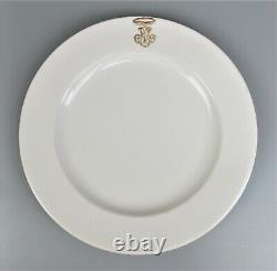 Shabby Chic off-white Dinner Service Set for 6. Plates etc. French antique style