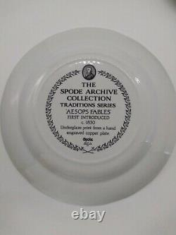 Spode the archive collection Traditions series black set of 5 new