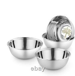Stainless Steel Dinner Set 61 PCs Life of Tree Design Plates Bowl Glass Spoon