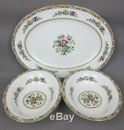 Superb vintage Coalport Ming Rose Dinner Service / Set. 5 place setting. Plates