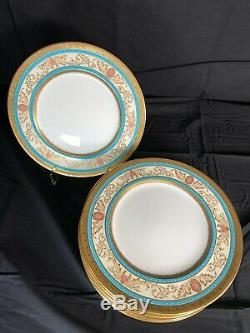 Tiffany & Co. Cauldon China Dinner Plate #3018 Set Of 12