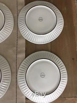 VIETRI Incanto Stripes Set Of 6 Dinner Plates (1J)