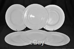 VILLEROY & BOCH Royal White Dinner Plates Set/6 New