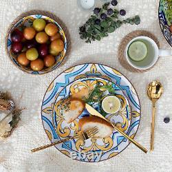 Vancasso Jasmin 32-Piece Dinnerware Set for 8 Stoneware Dinner Kitchen Dish Set