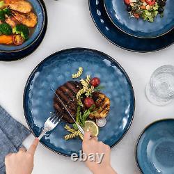 Vancasso Starry 23-Piece Stoneware Dinnerware Set Glazed Dinner Kitchen Dishes